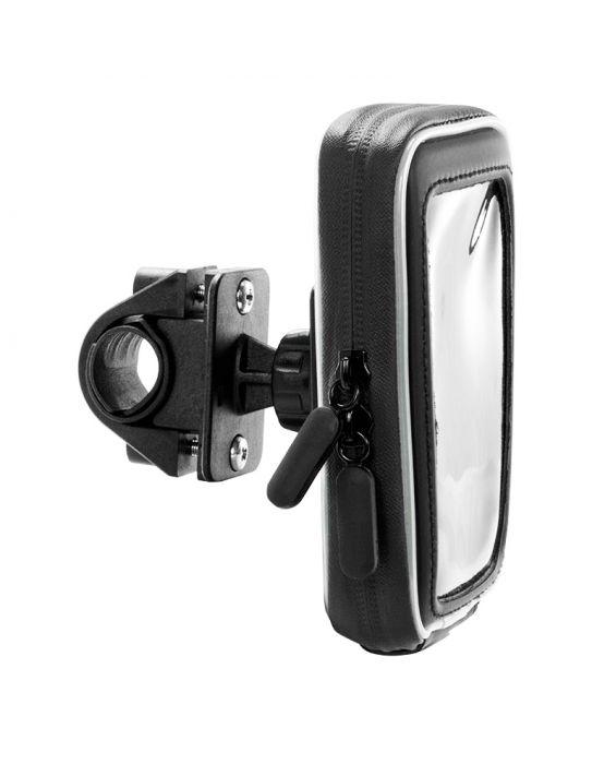 Vodoodporni nosilec za telefon z nastavkom za kolo in motor (SM032)
