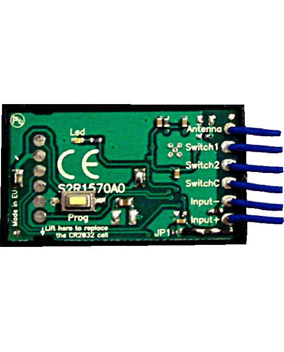 RA647 večfrekvenčni daljinec in duplikator